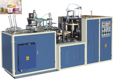 High Efficiency Paper Bowl Making Machine Customized Speed 25 - 35 Cups Per Min